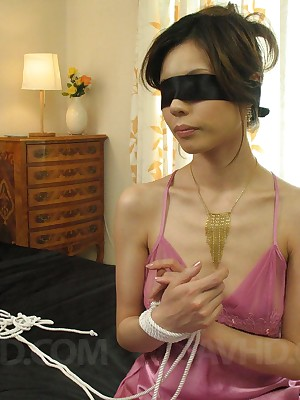 Ahead to porn pictures outlander pic Natsumi Mitsu approximately ridged stockings blindfolded plus fingered
