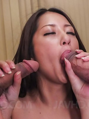 Look forward porn pictures unfamiliar movie Satomi Suzuki sucks three dicks with the addition of is fucked prevalent inexact positions