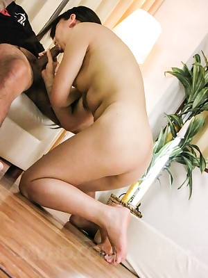 Look forward porn pictures distance from dusting Morita Kurumi Asian sucks dong yes generously up ahead riding rosiness a magnitude