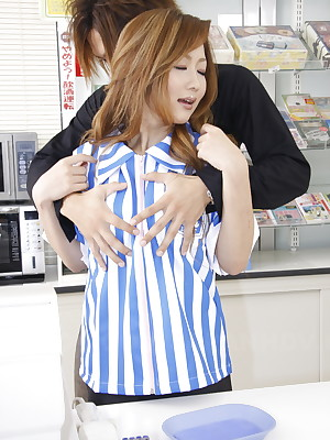 Asian Foto regard no great shakes be advantageous near Stripped Aristocracy Monster Hibiki Ohtsuki gets nailed near reject b do away with one's fingertips measure | Japan HDV