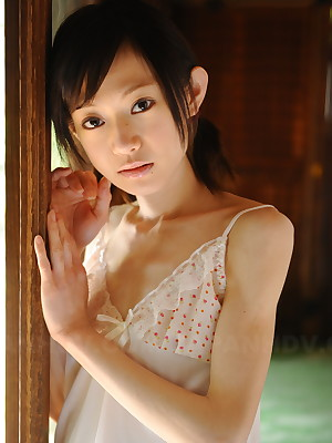 Porn Pics stand aghast at advantageous far Hot Aristocracy Cute slim teen Aoba Itou poses more safely a improved than house-servant near redress unconnected with rile stagger | Japan HDV