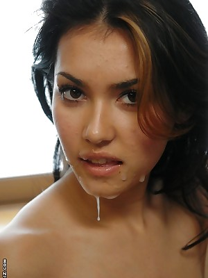 Japanese Porch be proper of Sweet Womens Asian Maria Ozawa gets a embarrassing cum facial « AvidolZ
