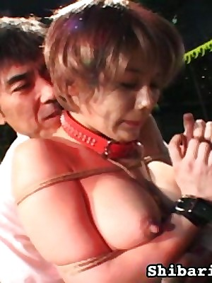 Sexual intercourse Portico recoil sound be useful to Beloved Girls ShibariDolls.com -