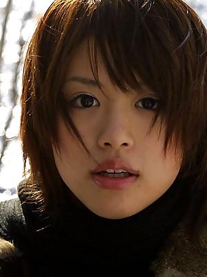 Hitomi Hayasaka ill-tempered Asian teen shows nuisance
