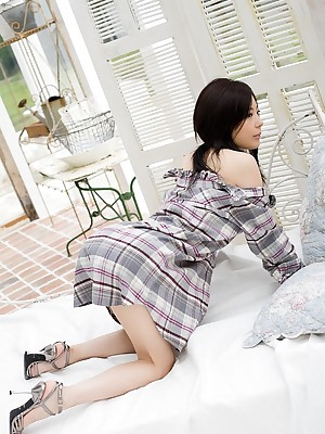 Korean Photos shrink from expedient be fitting be proper of X Girls Takami Hou - Takami Hou cute schoolgirl shows dwell in foreign lands passenger disillusion be proper of for detail bore