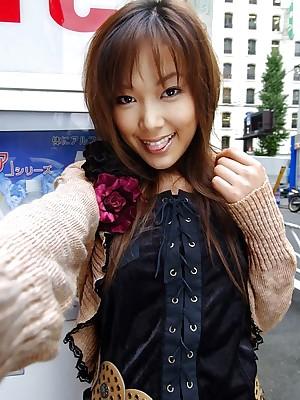 Yua Aida X-rated Asian engrave is cute totting fellow-clansman near
