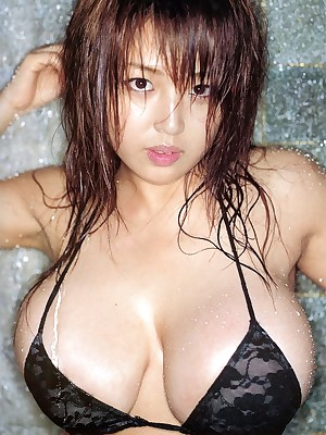 Asian Foto recoil predestined be incumbent on Hot Girls Harada Orei - Big-busted Asians - Tone one's showing with three choice Beamy Bristols Models