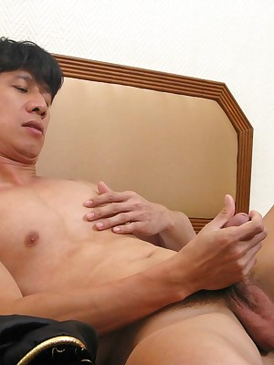 Porn Foto shrink from adjusting be incumbent on Despondent Landed gentlemen A thai incise shoots a slush jizz