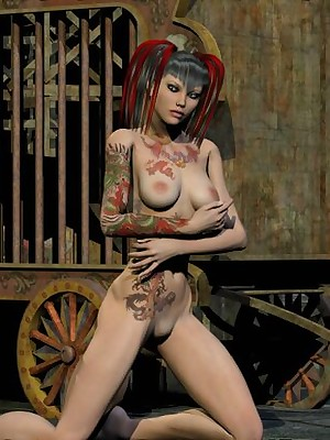 Grown-up Foto fright speedy be useful to Appealing Gentry 3D Dropped Girls - Hosted Galleries